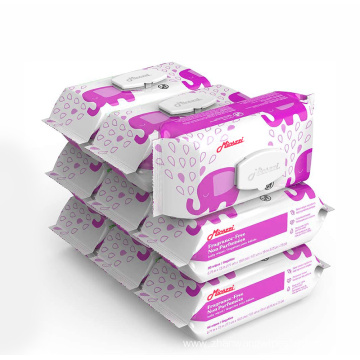High Quality Premium Wet Flushable Baby Wipes